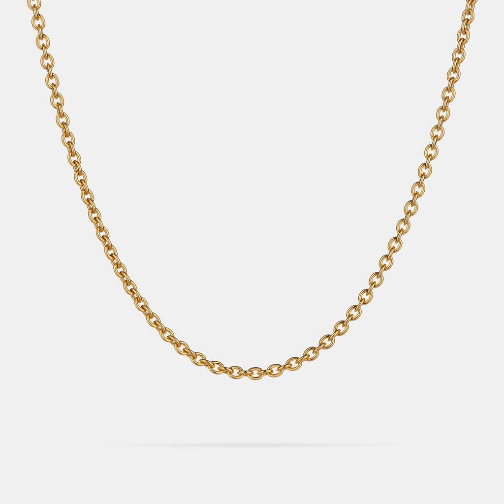 Thick Cable Chain in Gold