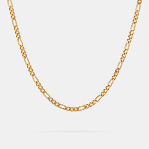 Figaro Chain in Gold