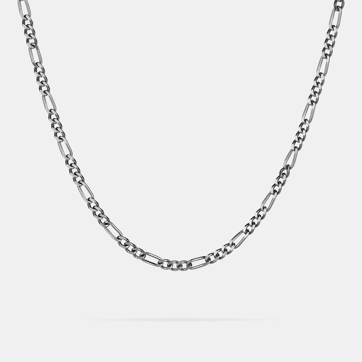 Figaro Chain in Silver