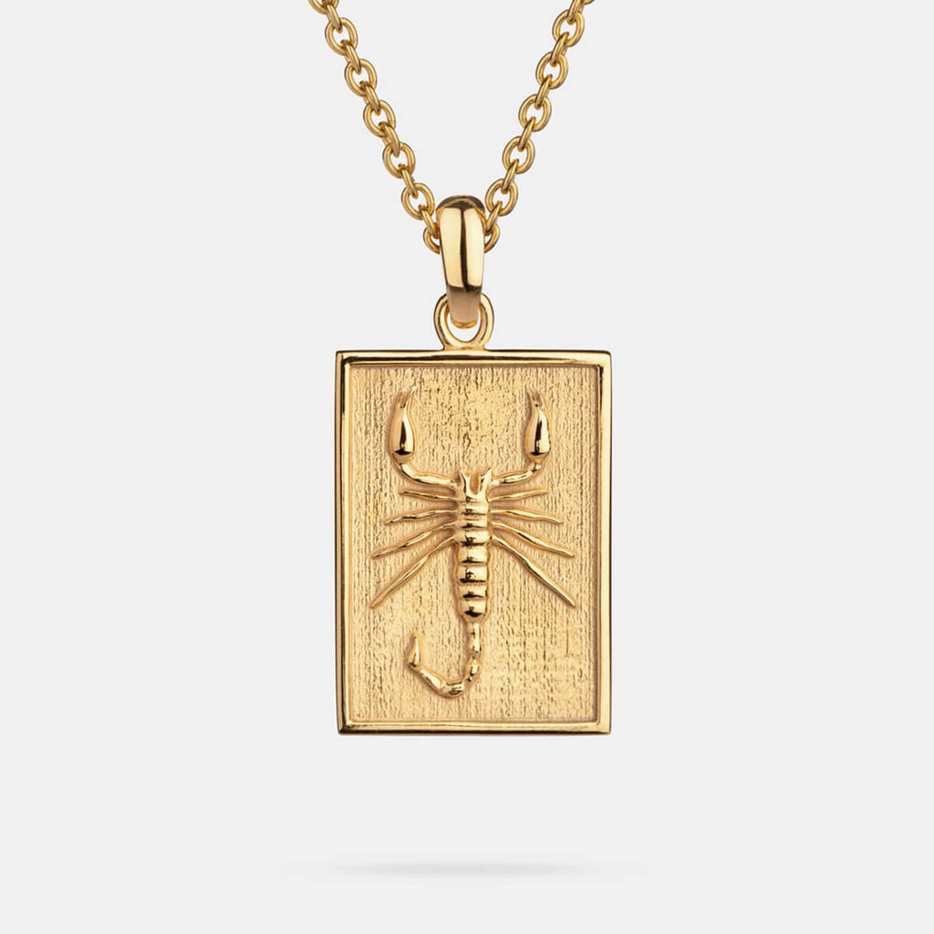 Scorpion Pendant Gold Plated