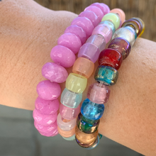 Load image into Gallery viewer, glass party bracelets