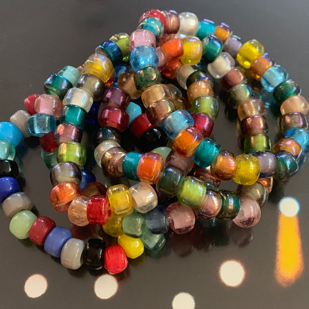 glass party bracelets
