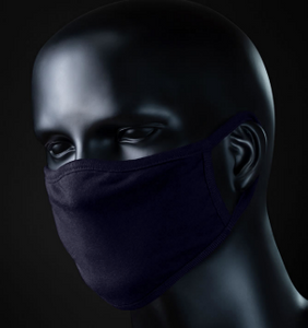 Night Blue Face Mask