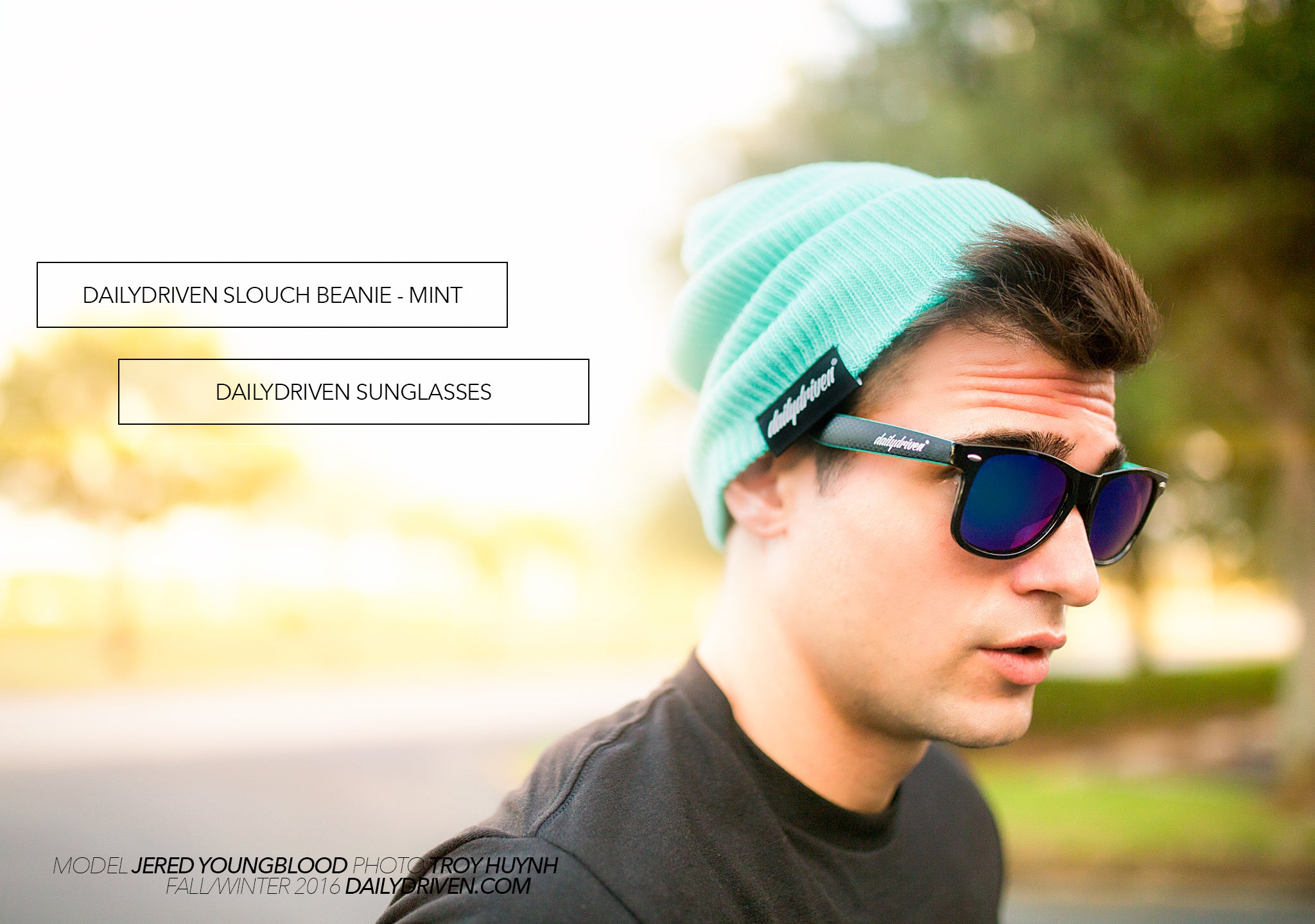 DailyDriven Slouch Beanie Sunglasses