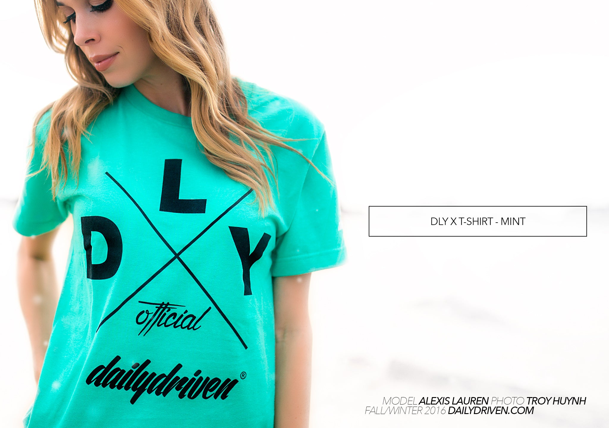 DailyDriven DLY X Mint T-Shirt