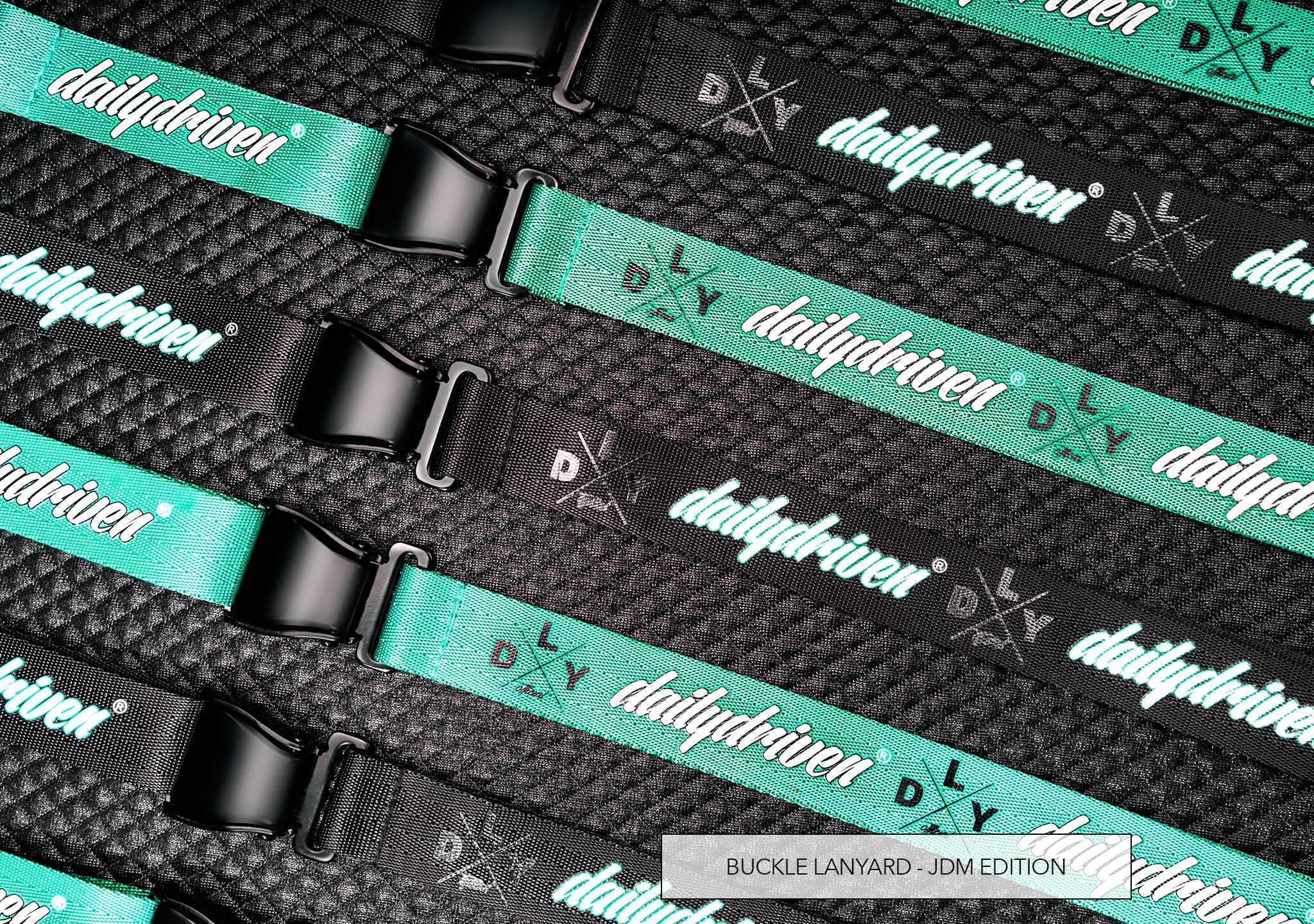 DailyDriven Buckle Lanyard JDM Edition