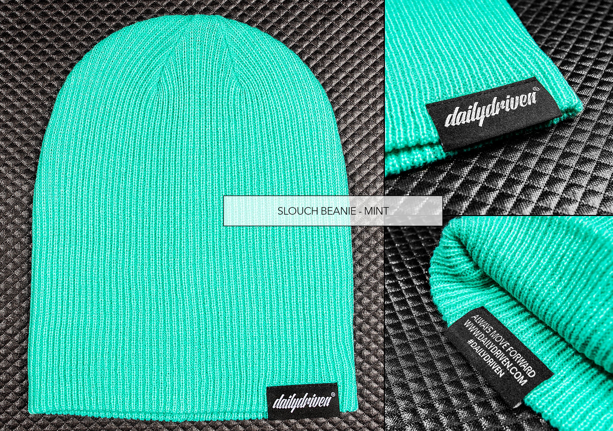 DailyDriven Slouch Beanie Mint