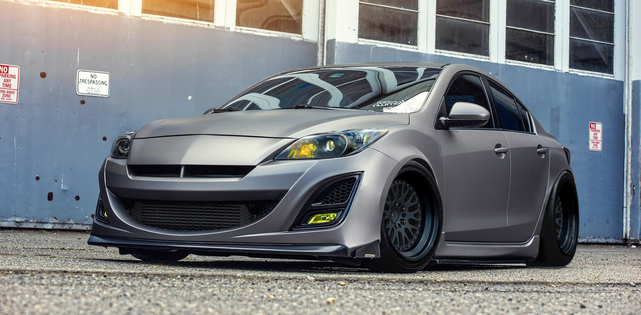 DailyDriven NWMotiv turboProject3 Mazda3 Sedan