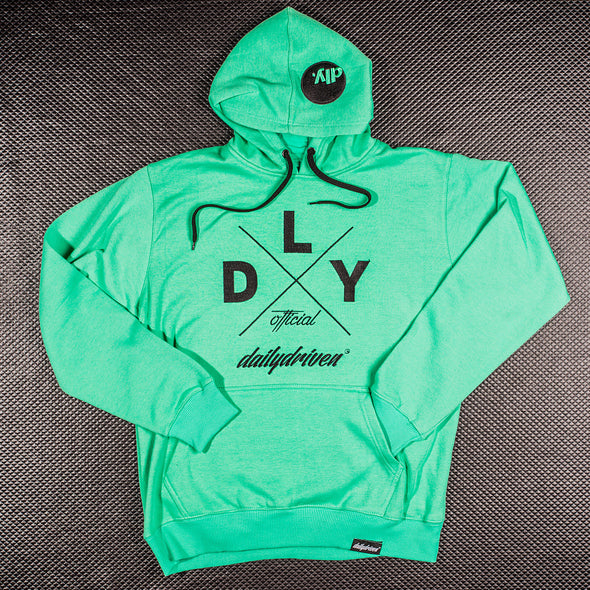 DailyDriven Mint Winter Hoodie