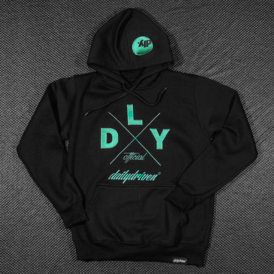 DailyDriven Black Winter Hoodie