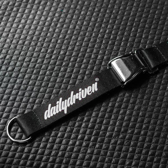 DailyDriven® Belt Buckle Lanyard - Black & White