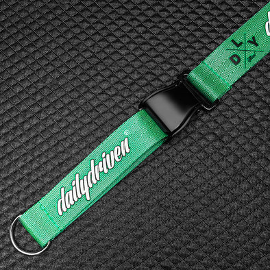 DailyDriven Lanyard Takata Buckle Edition Green