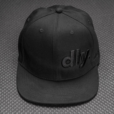 DailyDriven DLY Blacked Out Snapback Hat
