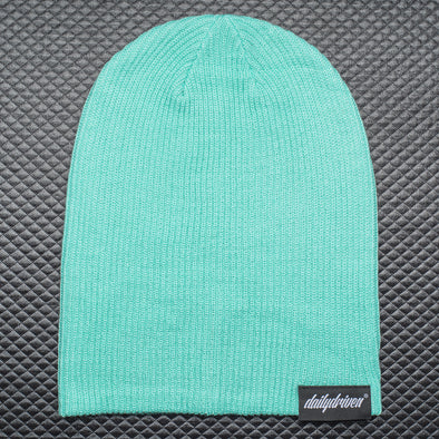 DailyDriven Mint Slouch Beanie