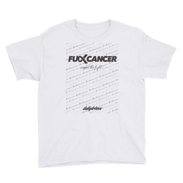 DailyDriven Fuck Cancer Youth T-Shirt
