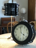 The Peart Drum Clock