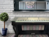 The Rocketman Piano Console Table