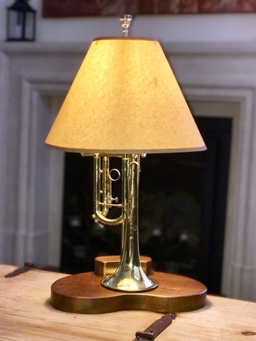 The Armstrong Trumpet Lamp
