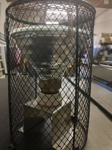 Dragonhaus Heat Lamp Cage