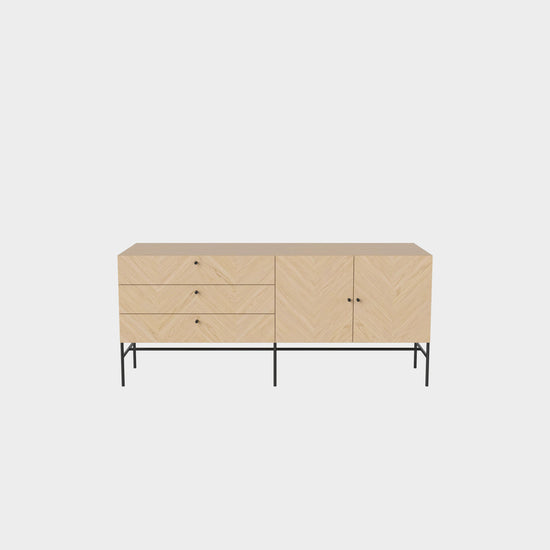 Luxe Sideboard - White Oak