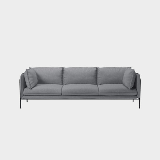 Pepe 3 Seater Sofa - Grey
