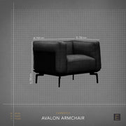 Avalon Armchair - Stone