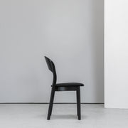 Hans K Rainbow Black Dining Chair at EDITO Furniture