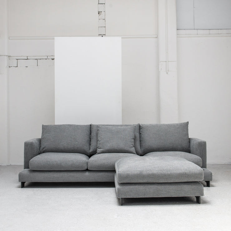 Grey Camerich Lazytime Sofa and ottoman at EDITO Furniture