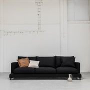 Black Camerich Lazytime Sofa with cushions at EDITO Furniture