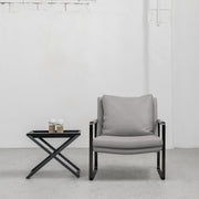 Leman Armchair - Grey