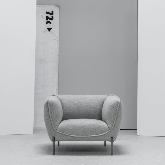Maya grey Armchair at EDITO Furniture