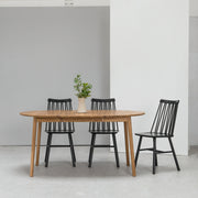 Zigzag Extension Dining Table