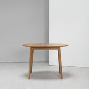Zigzag Extension Dining Table - Round