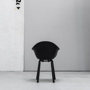 TOOU TA Bucket Armchair black at EDITO Furniture
