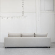 Cream linen Camerich Lazytime Sofa at EDITO