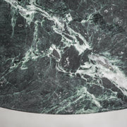 Lancer Side Table - Green Marble