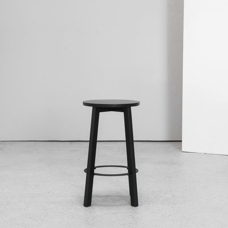 Hut Barstool - Black