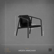Arden Armchair - Black