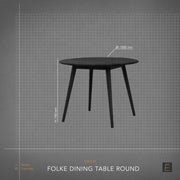 Folke Dining Table - Round