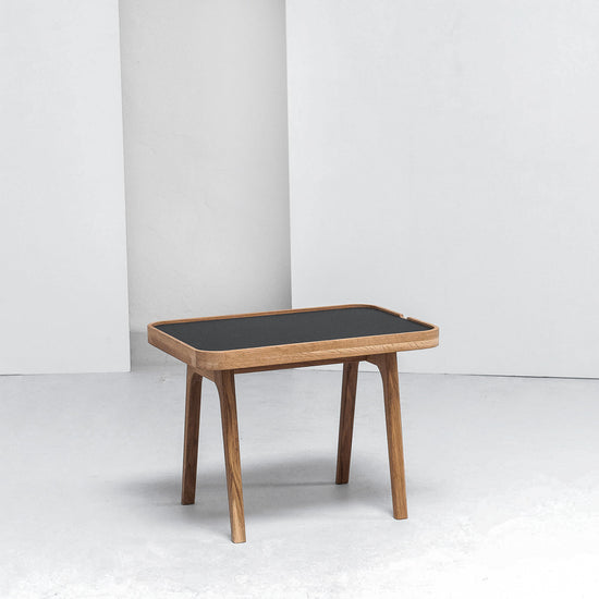 Hans K Racquet End Table at EDITO