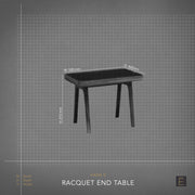 Racquet End Table