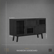 Rainbow Sideboard - Black