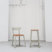Cadrea Dining Chair - Stone with Padded Seat