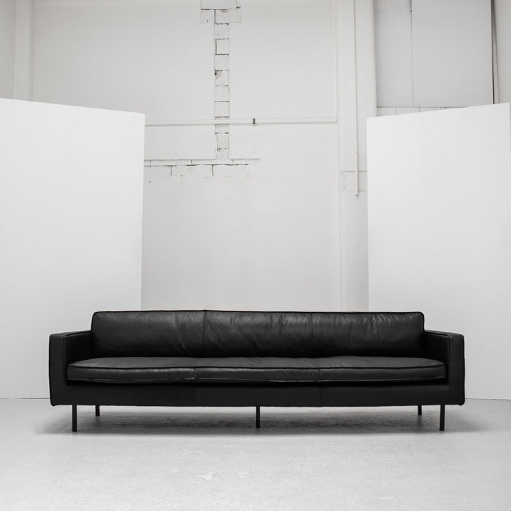 Octaaf 4 Seater Sofa - Black