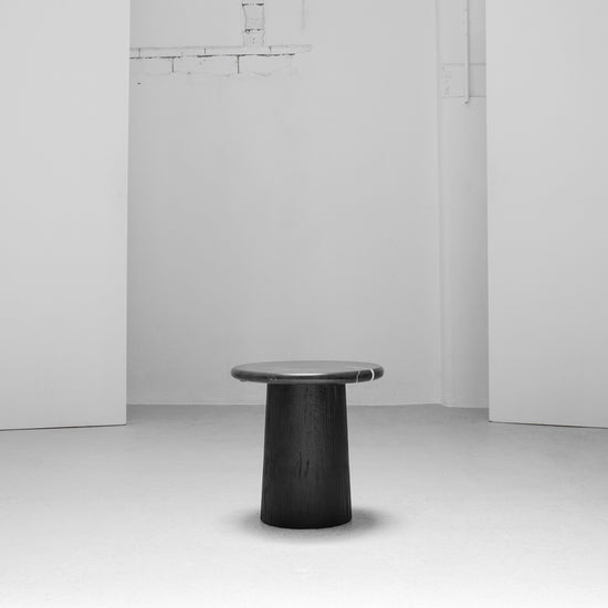 Karsten Side Table - Black Marble