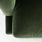 Marvin 3 Seater Sofa - Green Velvet