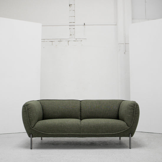 Maya 2 Seater Sofa - Green Tweed