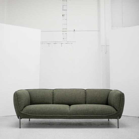 Maya 3 Seater Sofa - Green Tweed