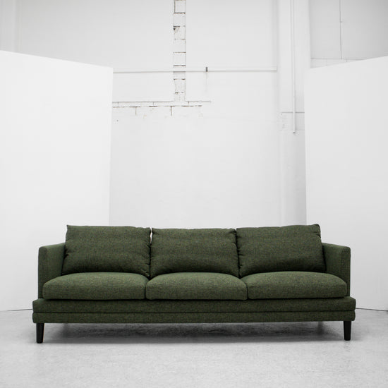 Marvin 3 Seater Sofa - Green Tweed