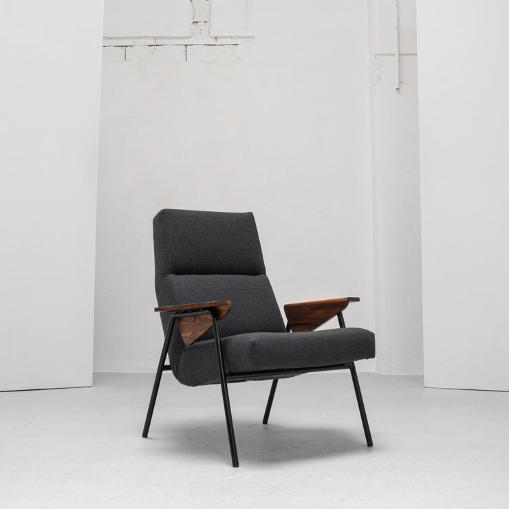 Victoire Armchair - Charcoal